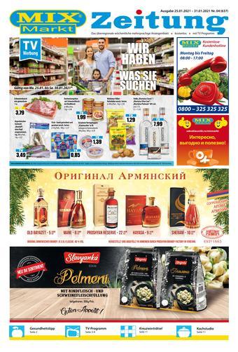 Mix Markt Prospekt (bis einschl. 31-01)