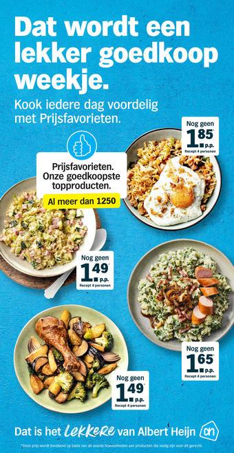 Albert Heijn reclame folder (geldig t/m 28-02)