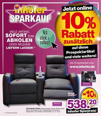 Möbel Inhofer Prospekt (bis einschl. 16-02)