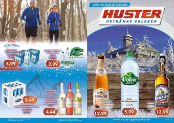 Getränke Huster Prospekt (bis einschl. 13-02)