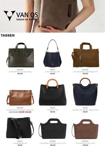 Van Os Tassen en Koffers reclame folder (geldig t/m 28-02)