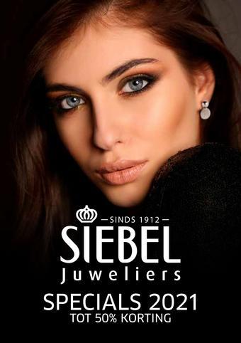 Siebel Juweliers reclame folder (geldig t/m 31-03)