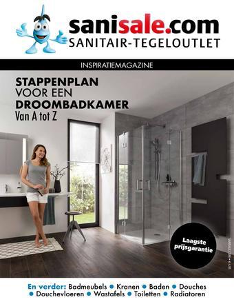 Sanisale reclame folder (geldig t/m 31-08)
