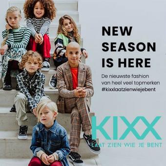 Kixx Online reclame folder (geldig t/m 31-03)