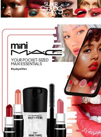 MAC Cosmetics reclame folder (geldig t/m 31-03)