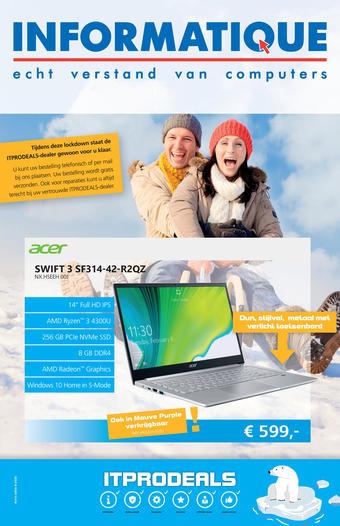 Informatique reclame folder (geldig t/m 28-02)