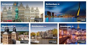Booking.com reclame folder (geldig t/m 28-02)