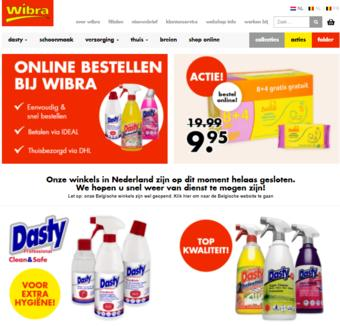 Wibra reclame folder (geldig t/m 28-02)