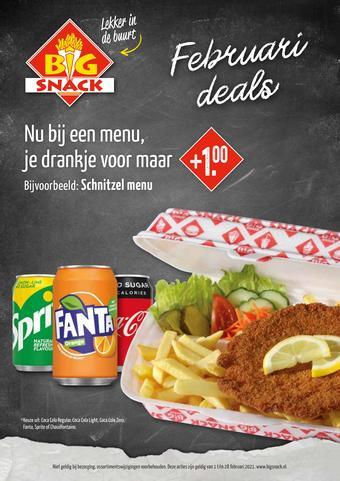 Big Snack reclame folder (geldig t/m 28-02)