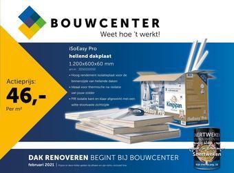 Bouwcenter reclame folder (geldig t/m 28-02)