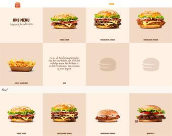 Burger King reclame folder (geldig t/m 30-06)