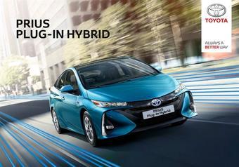 Toyota reclame folder (geldig t/m 16-01)