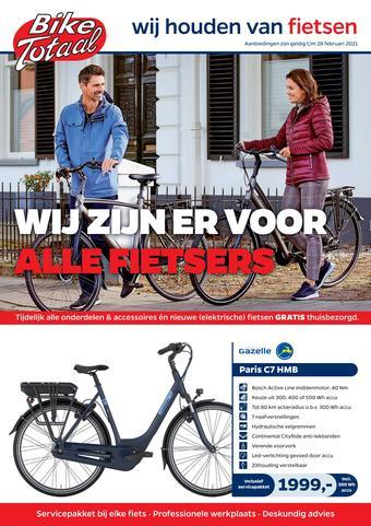 Bike Totaal reclame folder (geldig t/m 28-02)
