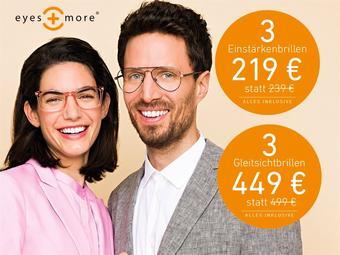 eyes + more reclame folder (geldig t/m 30-04)