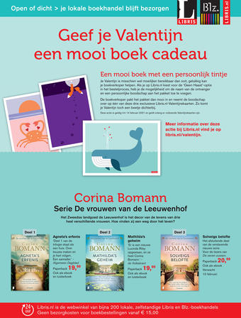 Libris reclame folder (geldig t/m 31-03)