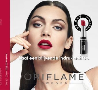 Oriflame reclame folder (geldig t/m 25-02)