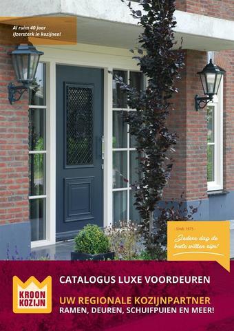 Kroon Kozijn reclame folder (geldig t/m 30-06)