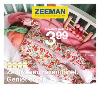 Zeeman reclame folder (geldig t/m 31-03)