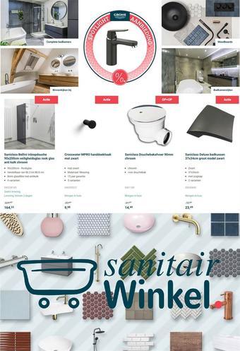 Sanitairwinkel.nl reclame folder (geldig t/m 28-02)