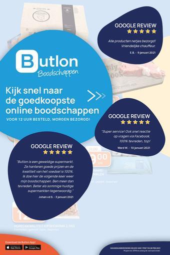 Butlon reclame folder (geldig t/m 28-02)