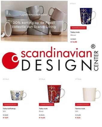 Scandinavian Design Center reclame folder (geldig t/m 28-02)