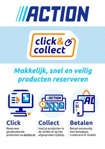 Action reclame folder (geldig t/m 14-03)