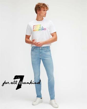 7 For All Mankind reclame folder (geldig t/m 21-03)