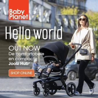 Babyplanet reclame folder (geldig t/m 31-03)