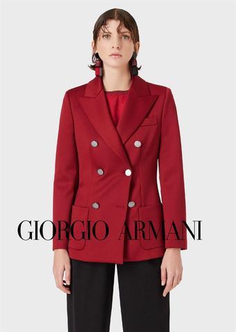 Armani reclame folder (geldig t/m 22-03)