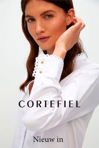 Cortefiel reclame folder (geldig t/m 16-03)