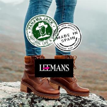 Leemans Schoenen reclame folder (geldig t/m 28-02)