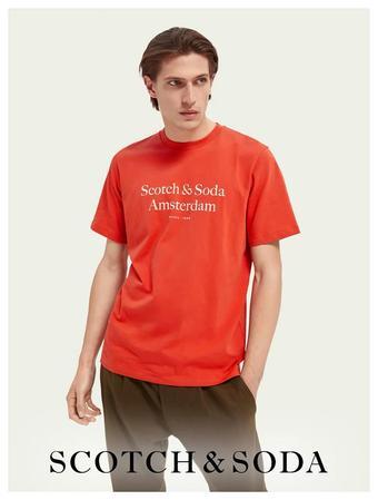 Scotch & Soda reclame folder (geldig t/m 12-04)