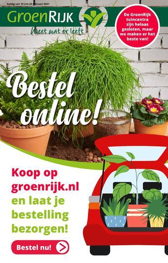 GroenRijk reclame folder (geldig t/m 28-02)