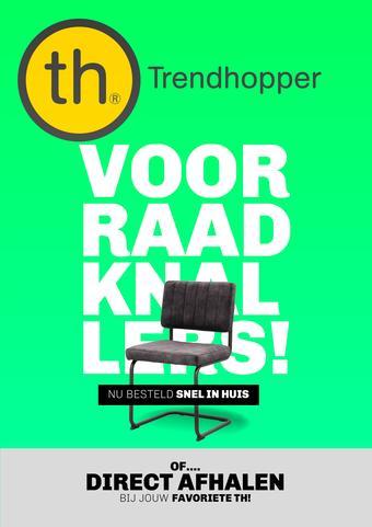 Trendhopper reclame folder (geldig t/m 02-03)