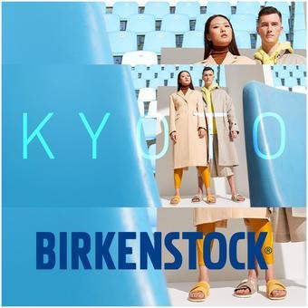 Birkenstock reclame folder (geldig t/m 13-04)