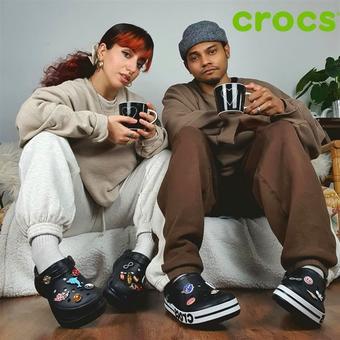 Crocs reclame folder (geldig t/m 12-04)