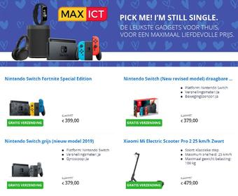 Max ICT reclame folder (geldig t/m 28-02)