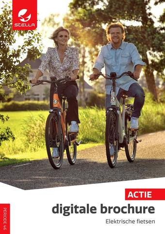 Stella fietsen reclame folder (geldig t/m 07-03)