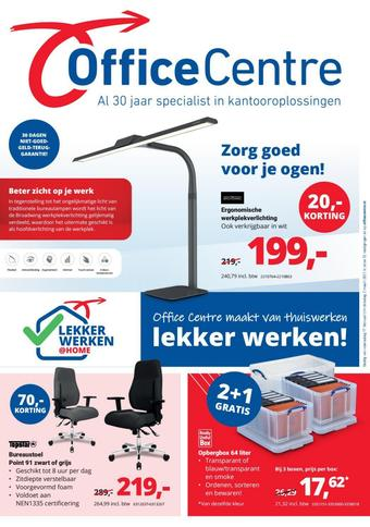 Office Centre reclame folder (geldig t/m 02-03)