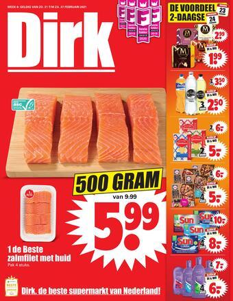 Dirk reclame folder (geldig t/m 27-02)
