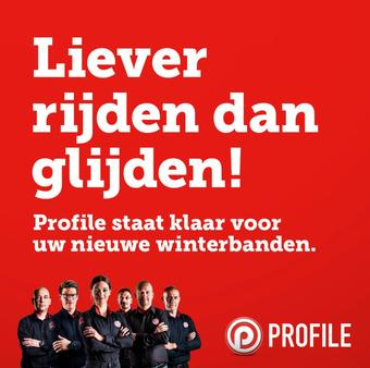 Profile Tyrecenter reclame folder (geldig t/m 07-03)