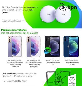 KPN reclame folder (geldig t/m 31-03)