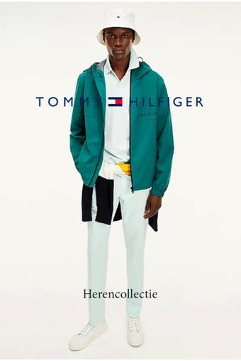 Tommy Hilfiger reclame folder (geldig t/m 12-04)