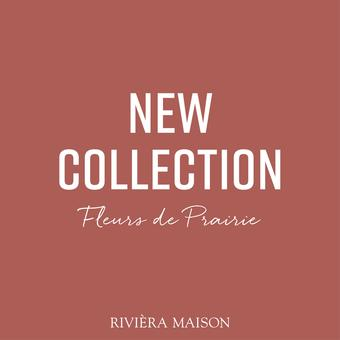 Rivièra Maison reclame folder (geldig t/m 28-02)