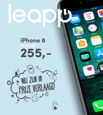 Leapp reclame folder (geldig t/m 28-02)