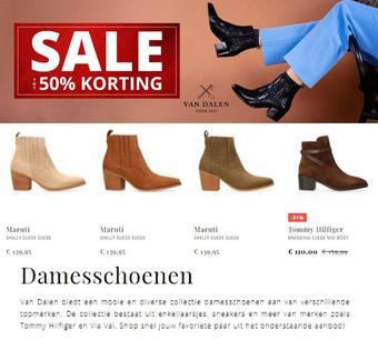 Van Dalen reclame folder (geldig t/m 28-02)