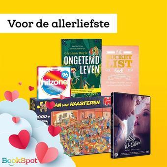 BookSpot reclame folder (geldig t/m 28-02)