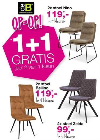 De Bommel Meubelen reclame folder (geldig t/m 28-02)