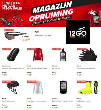 12GO Biking reclame folder (geldig t/m 28-02)