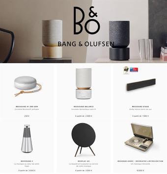 Bang & Olufsen reclame folder (geldig t/m 28-03)